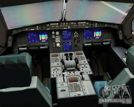 Airbus A330-300 SriLankan Airlines для GTA San Andreas салон
