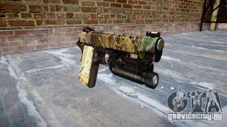 Пистолет Kimber 1911 Ronin для GTA 4