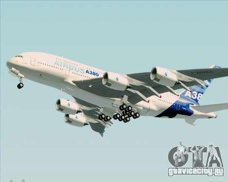 Airbus A380-861 для GTA San Andreas вид слева