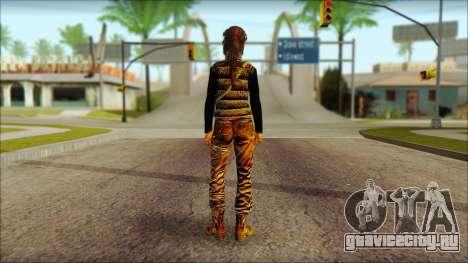 Tomb Raider Skin 1 2013 для GTA San Andreas второй скриншот