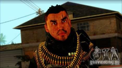 Australian Resurrection Skin from COD 5 для GTA San Andreas третий скриншот