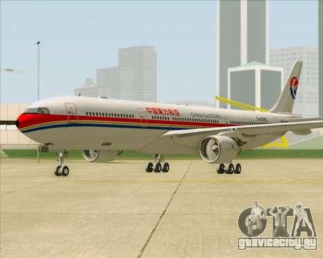 Airbus A330-300 China Eastern Airlines для GTA San Andreas вид слева