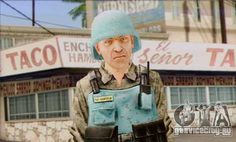Миротворец ООН (Postal 3) для GTA San Andreas третий скриншот