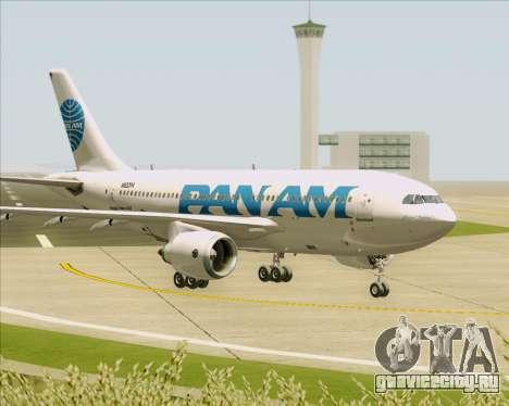 Airbus A310-324 Pan American World Airways для GTA San Andreas вид сверху