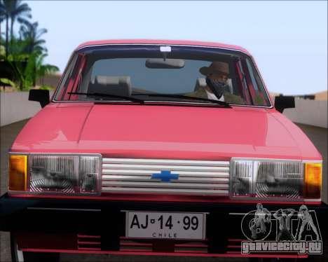Chevrolet Opala Diplomata 1987 для GTA San Andreas вид сзади