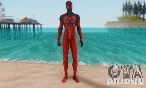 Skin The Amazing Spider Man 2 - Scarlet Spider для GTA San Andreas второй скриншот