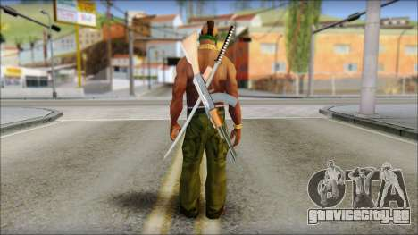MR T Skin v11 для GTA San Andreas второй скриншот