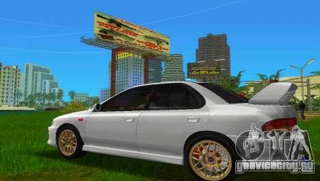 Subaru Impreza WRX STI GC8 Sedan Type 3 для GTA Vice City вид слева
