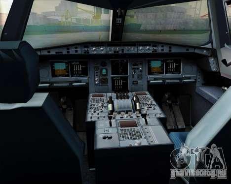 Airbus A380-800 All Nippon Airways (ANA) для GTA San Andreas салон