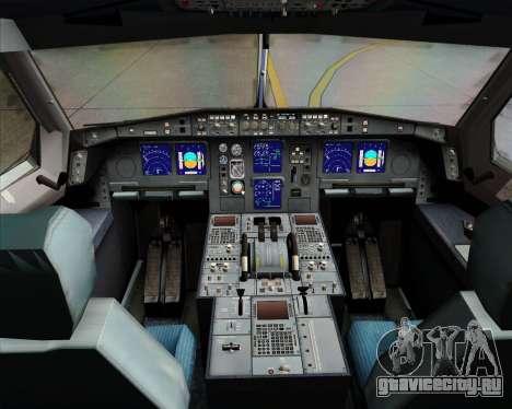 Airbus A340-313 Emirates для GTA San Andreas салон