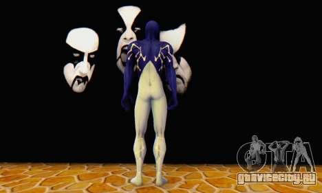 Skin The Amazing Spider Man 2 - Suit Cosmic для GTA San Andreas четвёртый скриншот