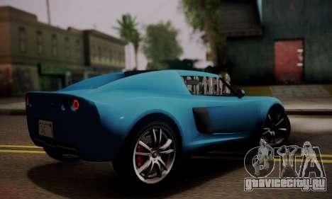 Coil Voltic from GTA 5 для GTA San Andreas вид слева