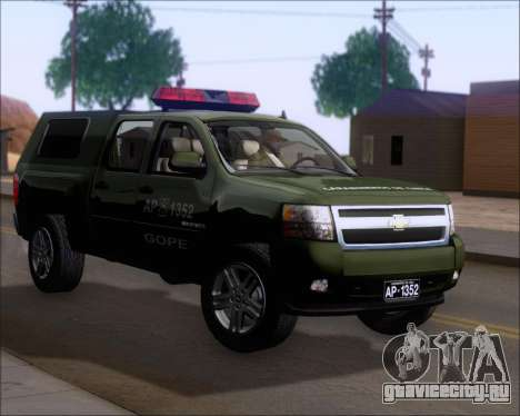 Chevrolet Silverado Gope для GTA San Andreas