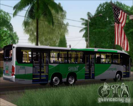 Comil Svelto BRT Scania K310IB 6x2 Sorocaba для GTA San Andreas вид справа
