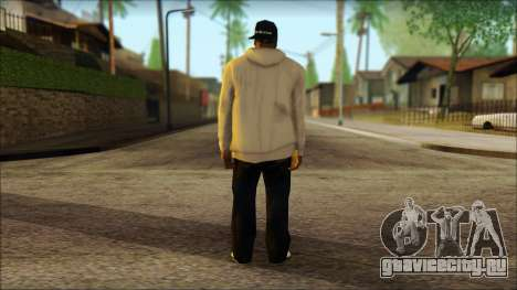 Afro - Seville Playaz Settlement Skin v5 для GTA San Andreas второй скриншот