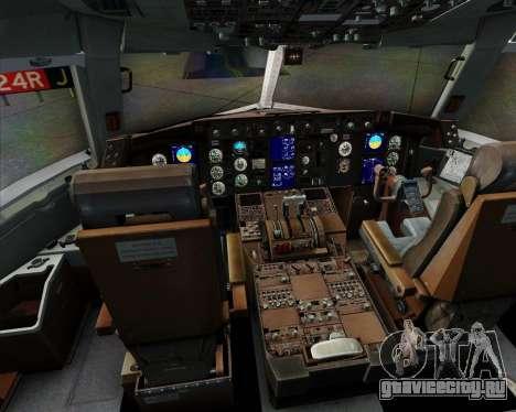 Boeing 767-300ER F TAM Cargo для GTA San Andreas салон