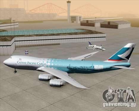 Boeing 747-8 Cargo Cathay Pacific Cargo для GTA San Andreas вид сверху