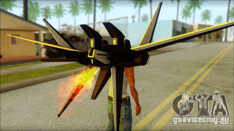 Machine Wing Jetpack для GTA San Andreas третий скриншот