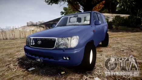 Toyota Land Cruiser для GTA 4