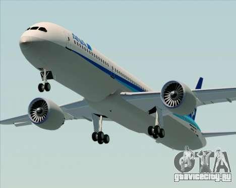 Boeing 787-9 All Nippon Airways для GTA San Andreas вид изнутри