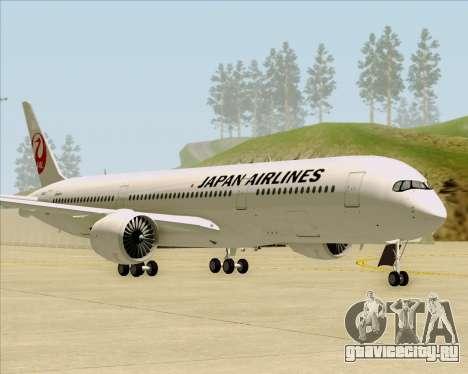 Airbus A350-941 Japan Airlines для GTA San Andreas вид слева