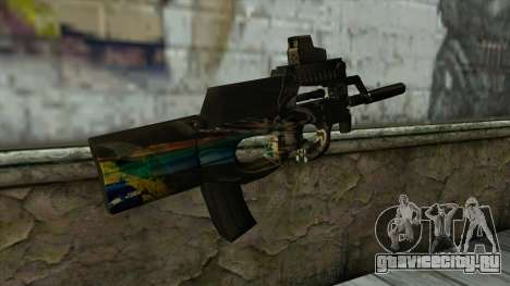 P90 from PointBlank v2 для GTA San Andreas второй скриншот