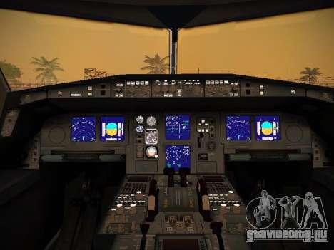 Airbus A340-600 Qatar Airways для GTA San Andreas колёса