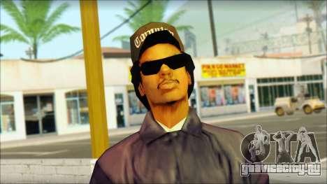 Eazy-E Blue Skin v1 для GTA San Andreas третий скриншот