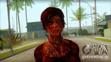 Tomb Raider Skin 9 2013 для GTA San Andreas третий скриншот