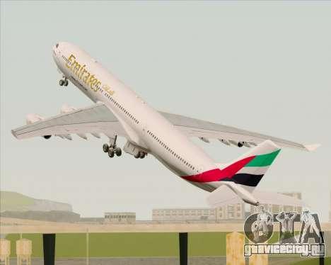 Airbus A340-313 Emirates для GTA San Andreas