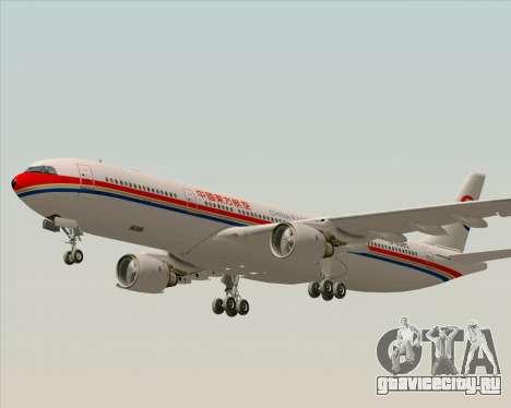 Airbus A330-300 China Eastern Airlines для GTA San Andreas вид сверху