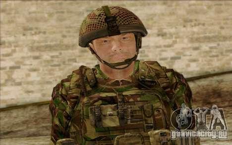 Британский солдат (ArmA II: BAF) v1 для GTA San Andreas третий скриншот