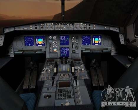 Airbus A330-300P2F UPS Airlines для GTA San Andreas салон