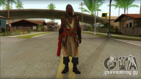 Adewale from Assassins Creed 4: Freedom Cry для GTA San Andreas