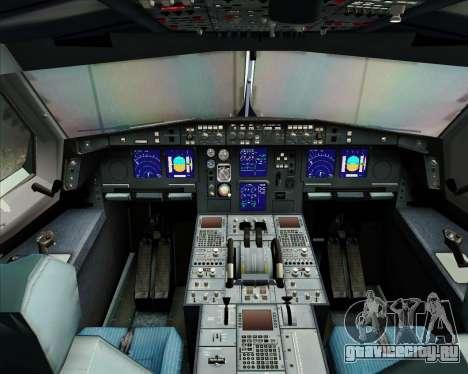 Airbus A340-313 Singapore Airlines для GTA San Andreas салон