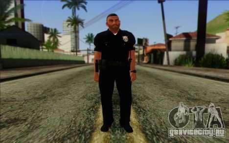 Полицейский (GTA 5) Skin 4 для GTA San Andreas