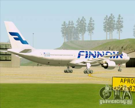 Airbus A330-300 Finnair (Current Livery) для GTA San Andreas вид справа
