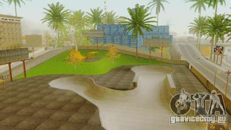 Текстуры скейт-парка и госпиталя в Лос-Сантосе для GTA San Andreas пятый скриншот