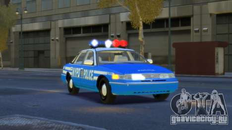 Ford Crown Victoria 1994 NYPD для GTA 4