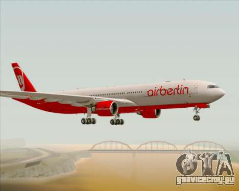 Airbus A330-300 Air Berlin для GTA San Andreas вид справа