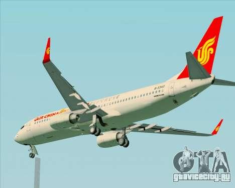 Boeing 737-89L Air China для GTA San Andreas вид сверху