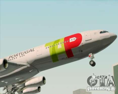Airbus A340-312 TAP Portugal для GTA San Andreas колёса