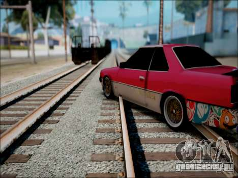 Nissan Skyline GT-R R30 для GTA San Andreas вид сзади