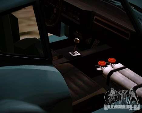 Coquette Classic GTA 5 DLC для GTA San Andreas вид справа
