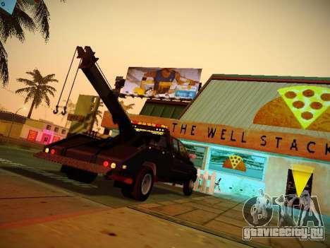 Dodge Ram Tow-Truck для GTA San Andreas вид справа