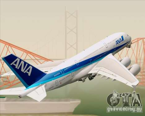 Airbus A380-800 All Nippon Airways (ANA) для GTA San Andreas