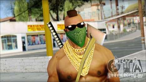 MR T Skin v11 для GTA San Andreas третий скриншот