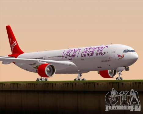Airbus A330-300 Virgin Atlantic Airways для GTA San Andreas вид слева