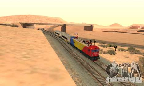 Le 6600 Kw-Phoenix для GTA San Andreas вид сзади