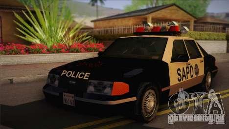 GTA 3 Police Car для GTA San Andreas
